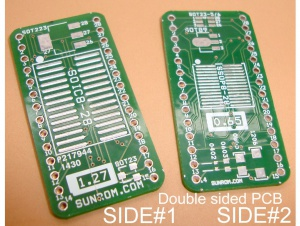 Universal SMD to DIP Adapter PCB